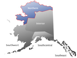 Northern Alaska Towns